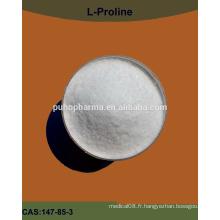 Amino acid bulk poudre l-proline / l proline GMP / Kosher