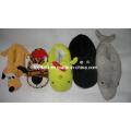 Sapatos e Chinelos Cabeça de Animal de pelúcia