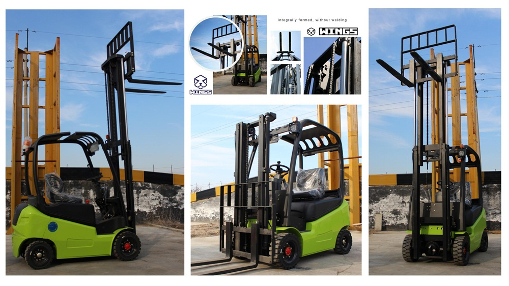 2tons Battery Forklift Green