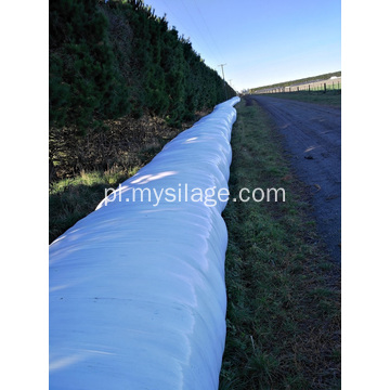 Biały kolor Silage Wrap Film High Tack