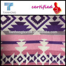 colorful design geometric 100 cotton twill weave printed fabric for dress