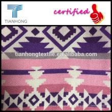 красочный дизайн, геометрические 100 хлопок саржа ткать набивной ткани для одежды