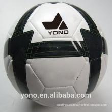 Niños / adultos que entrenan el diseño cosido máquina del balón de fútbol
