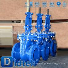 Didtek China válvula de compuerta de latón industrial ms58