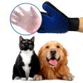 Guante de limpieza de silicona para mascotas para perros y gatos