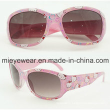 Sunglasses with Hello Kity Pattern Hot Selling and Fashionable (AKS003)