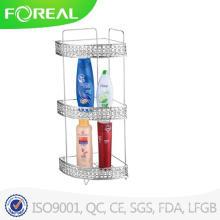 Modern Shower/Bathroom Wall Mount with 3 Racks