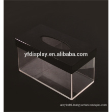 Rectangle Acrylic Clear Storage Box for Hotel