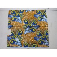 Cire africaine 100% coton Imprimé africain Cire Tissu 6 mètres