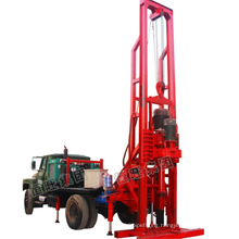 truck mounted drilling rig for sale/water drilling truck/used truck mounted water well drilling rig