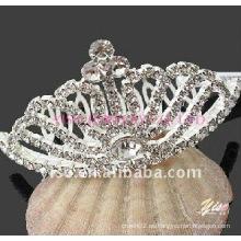 Corona del rhinestone de la boda