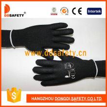 Flexible 13 Gauge Black Nylon Hand Gloves