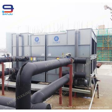 Tour de refroidissement de l'eau de fabricants de tour de refroidissement pour la pompe à chaleur