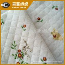 tejido de poliéster tejido jacquard tejido de capa de aire para ropa