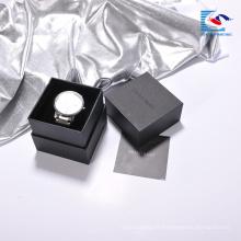 Boîte professionnelle faite sur commande de papier d'emballage de montre de qualité avec le plateau d'insertion