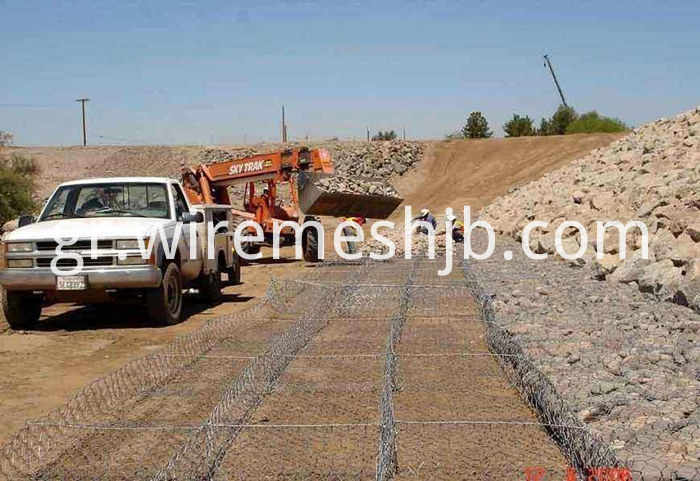Galvanized Gabion Mattress
