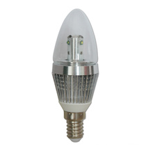 Dimmable LED de alta luminosidad SMD LED Candle Light