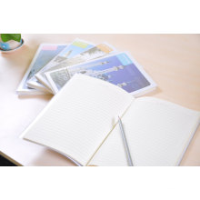 Notebook with PVC Jacket Cover School Student Exercise Book
