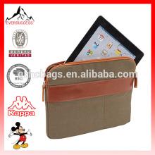 Bolsa de maleta de transporte nova ecológica para manga de lona de Tablet para Tablet