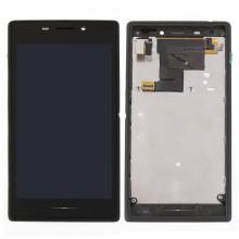 Teléfono móvil LCD con marco completo para Sony M2