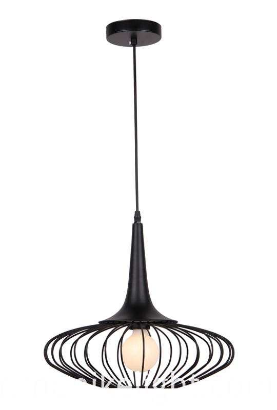 Metal Black Lamp L Size