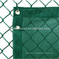 dark green privacy windbreak fence netting with uv resistent