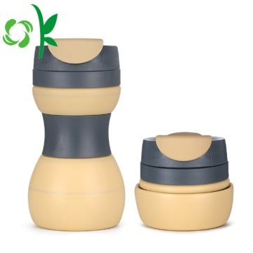 Anti Bocor Silicone Top Quality BPA Free Folding Cup