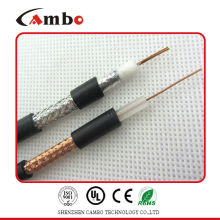 Made in China copper conductor rg6 tri shield coaxial cable