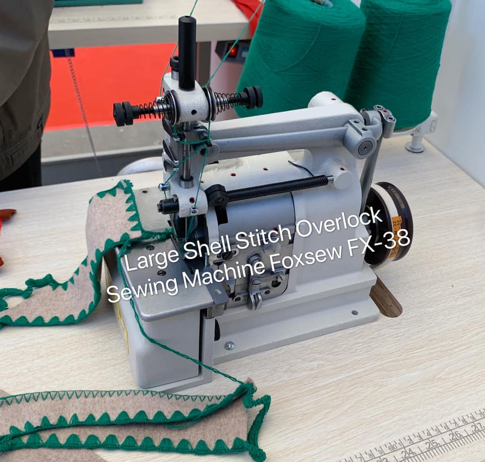 Large Shell Stitch Overlock Sewing Machine 4