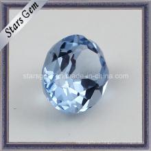 Красивый синий синтетический алмаз 108 # Spinel
