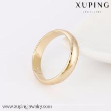 13943- Anillos de bodas calientes de la venta de la manera de la joyería de Xuping con el oro 18K plateado