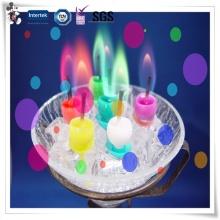 Les nouvelles bougies de produit professionnelles personnalisées populaires de conception élégante brûlent différentes couleurs