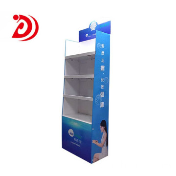 Cosmetics floor display stands​