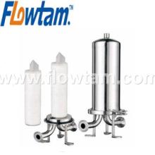 Нержавеющая сталь картридж фильтр водяной фильтр контейнер