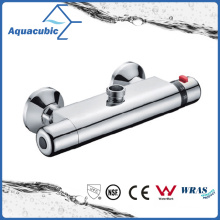 Bathroom Shower Brass Chromed Anti-Scald Thermostatic Tap (AF4131-7)