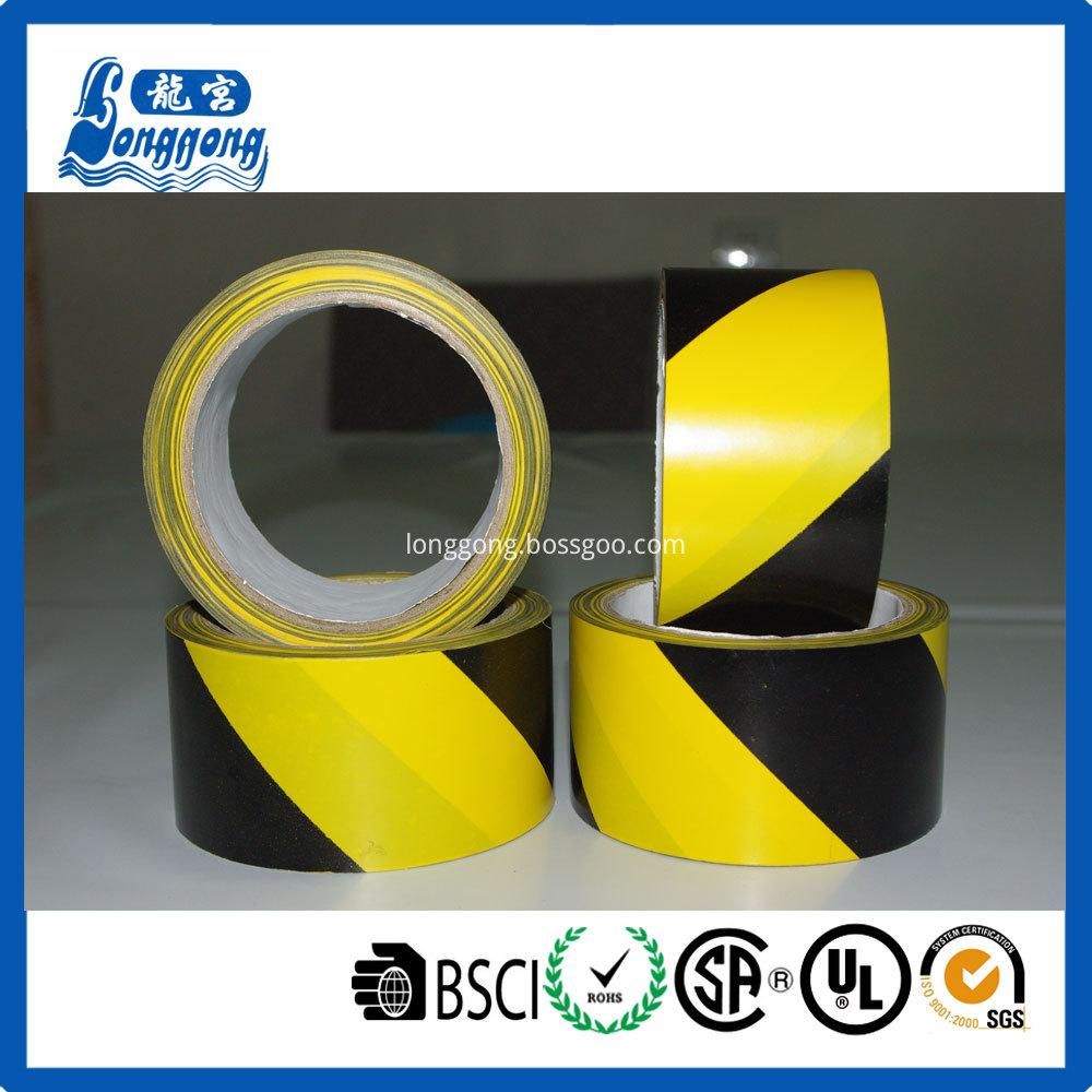 Double Color Interphase PVC Hazard Caution Tape