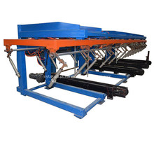 Empilhador de folhas automático para folhas de telhado