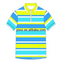 OEM Service Polo Shirt T-shirt blanc en gros