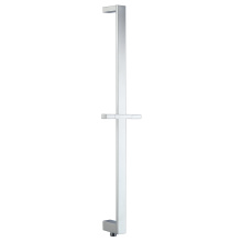 Flat Square Shower Rail With Water Outlet