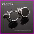VAGULA qualité Onyx Silver Cufflinks (HL10121)