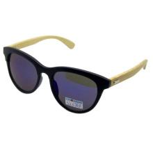 Gafas de sol de madera de moda de la vendimia (sz5763-1)