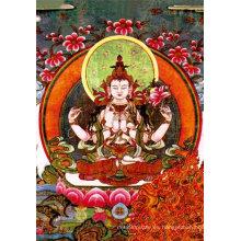 Precio bajo de fábrica PP 3D Indian God Pictures, imágenes 3D Indian God