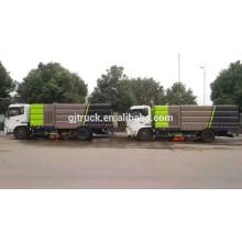 Barredora de carretera Dongfeng personalizada y Camión de limpieza para barrido de calles