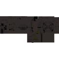 Motor síncrono de la CA del CW CCW del imán permanente de 12V 24V 50 / 60hz 55mm