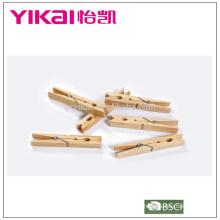 Top set de vente de pinces en bois en pin 24pcs insectes
