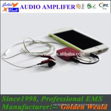 alta qualidade mini amplificador amplificador de auscultadores amplificador de bateria recarregável