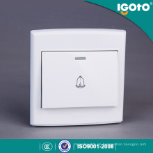 Igoto British Standard D3091 Push Button elektrische Türklingel Wandschalter