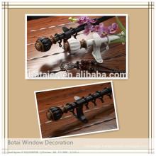 aluminum rail double or single bracket for aluminum-plastic curtain pipe