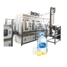 3L 5L Enchimento de garrafas grandes e máquinas de embalagem e tampa