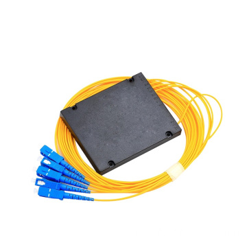 1x4 PLC Splitter in fibra di scatola ABS